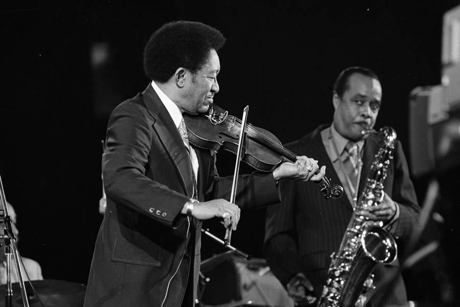 Claude 'Fiddler' Williams, Buddy Tate